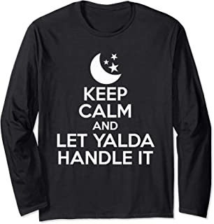 Keep Calm And Let Yalda Handle It Iran Traditional Holiday Long Sleeve T-Shirt