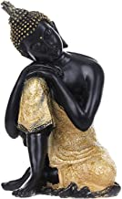 PPCP Thai Buddha Figurine Sculpture Sitting Buddha Statue Home Office Decor Indoor Statue Ornament 15cm Feng Shui Ornament...