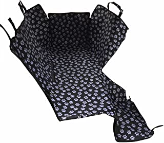 HelloTree Pet Dog Car Seat Cover - Double Oxford Pet Travel Hammock Waterproof Back Seat Protector Mat