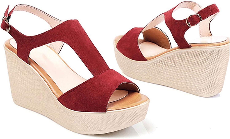 Casual Women Sandals Creepers Wedge Sandals Flat Platform shoes Summer Women shoes