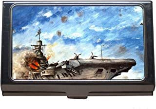 Credit Card Case/ID Case,Military HMS Victorious (R38) Warship Business Credit ID Card Holder
