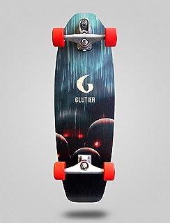 Glutier Surfskate Pixel Bots 31,5 with T12 Surf Sk...