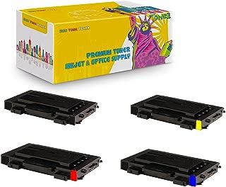 New York TonerTM New Compatible 4 Pack CLP-510D7K CLP-510D5C CLP-510D5Y CLP-510D5M High Yield Toner For Samsung - CLP-510N | CLP-510NG . -- Black Cyan Magenta Yellow