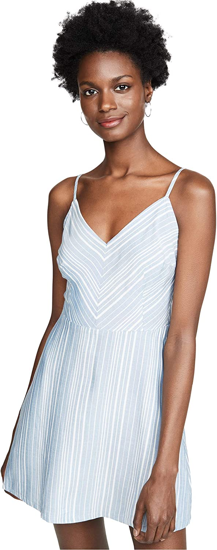 BB Dakota Womens Fine Lines Yarn Dyed Shirt Dress Dress