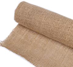 JKoYu Decorations for Home 13 Colors Jute Burlap Fabric Ribbon Roll DIY Sewing Craft Tablecloth Home Decor - Natural Color