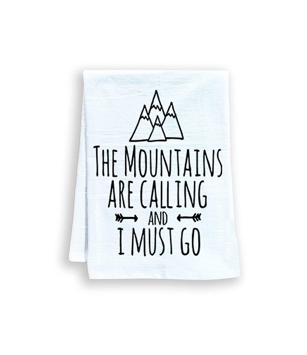 Funny Kitchen Towel The Mountains Dedication Are and Fl I Go Must Calling Store