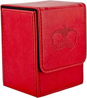 Ultimate Guard Deck Box, Leather Red