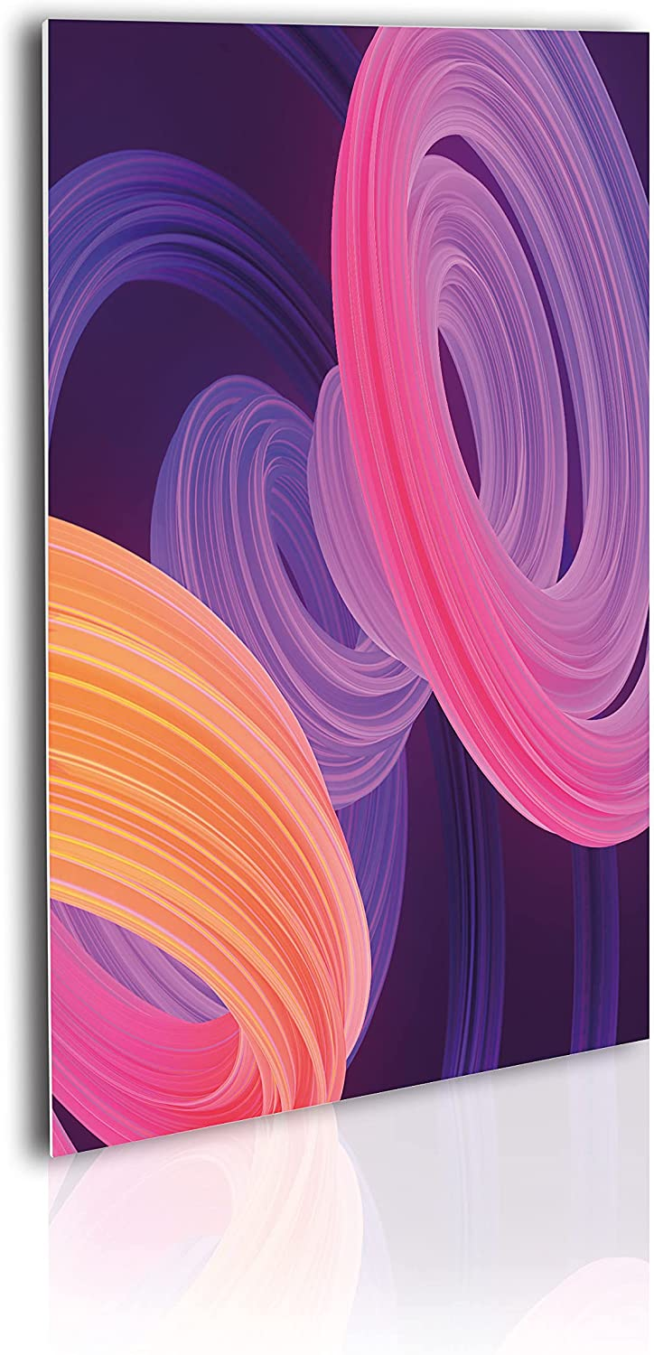 Reservation Bombing new work Ambesonne Abstract Acrylic Glass Wall G and Art Modern Colorful
