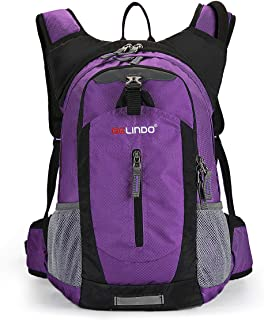 Gelindo Insulated Hydration Backpack Pack with 2.5L BPA Free Bladder - Keeps Liquid Cool Up to 4 Hours, Water Backpack for...