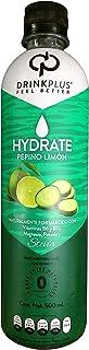 DrinkPlus Bebida Natural, Pepino Limón, 500 ml