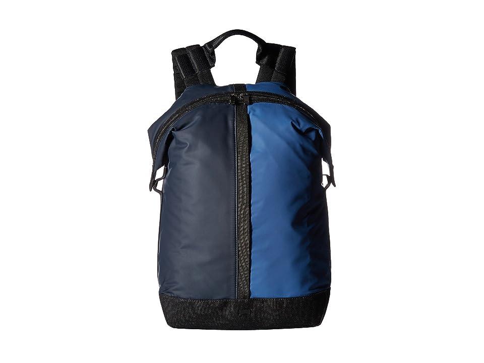 Camper Moon Backpack (Blue Multi) Backpack Bags
