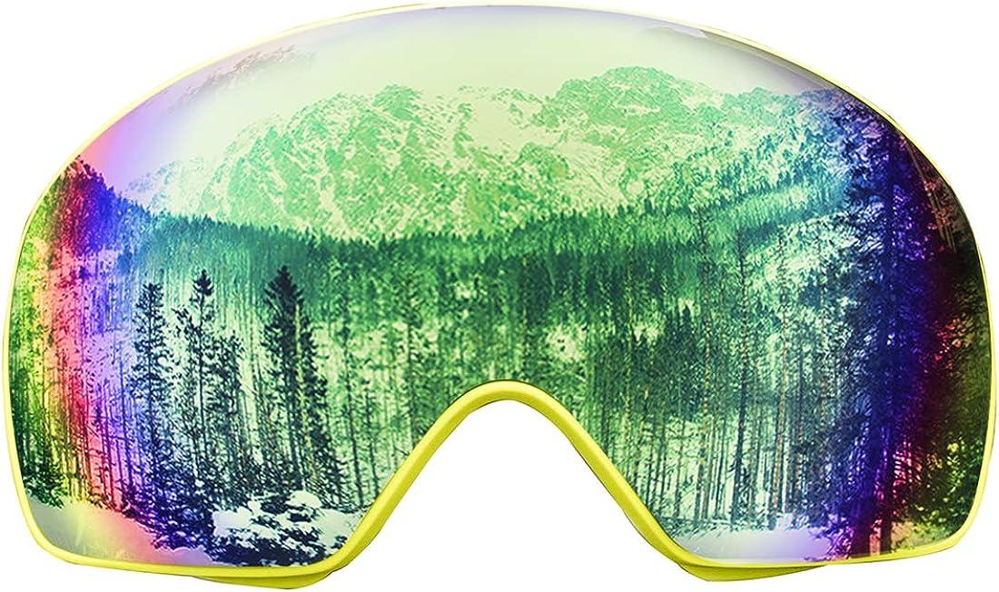 FOCUSSEXY Ski Popular standard Goggles - Glasses for W NEW Snowboard Men