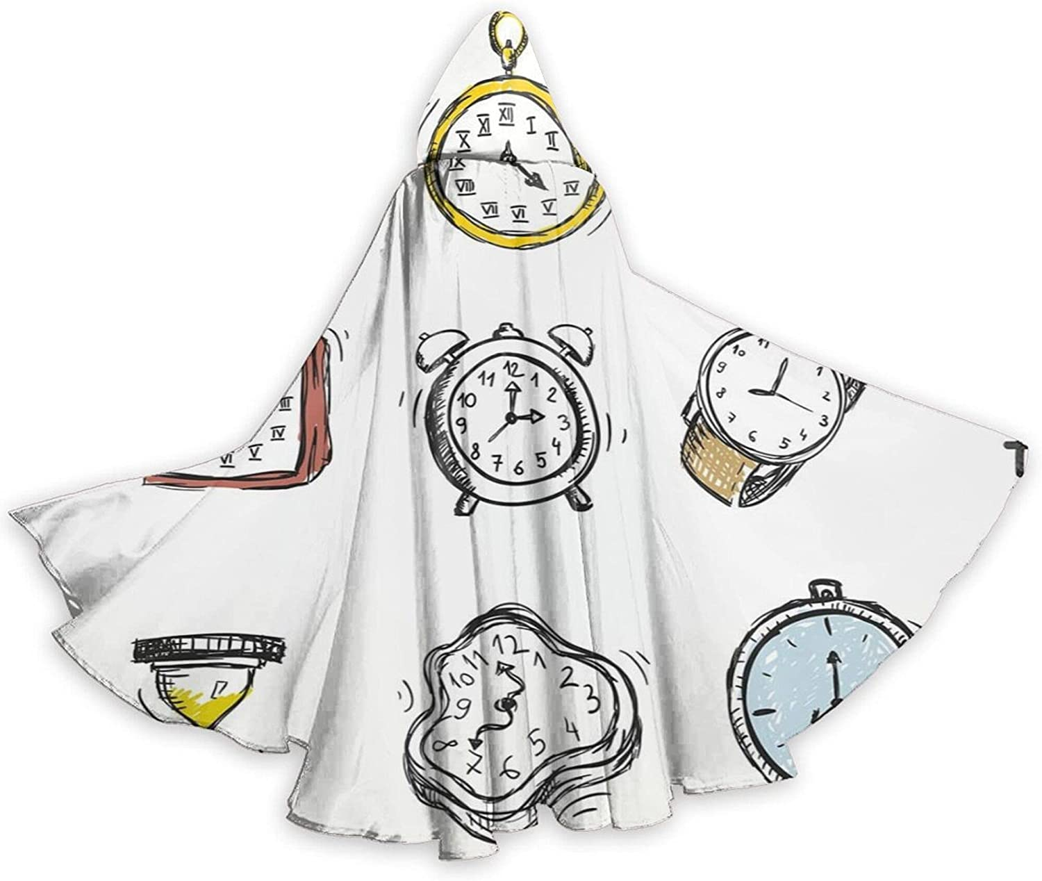 Cloak National uniform free Ranking TOP3 shipping An Assortment Of Vintage Watches And Clocks D Hand Doodled