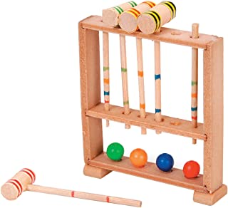 Darice Croquet Set Timeless Minis One Size Multicolor