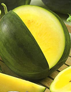 Seeds Rare Watermelon Janosik Yanosik Yellow Vegetable Organic Heirloom Ukraine for Planting