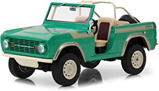 1976 Ford Bronco Twin Peaks Green Gas Monkey Garage (2012) TV Series 1/18 Diecast Model Car by Greenlight 19034