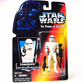 Hasbro 1995 Star Wars Stormtrooper with Blaster Rifle and Heavy Infantry Cannon