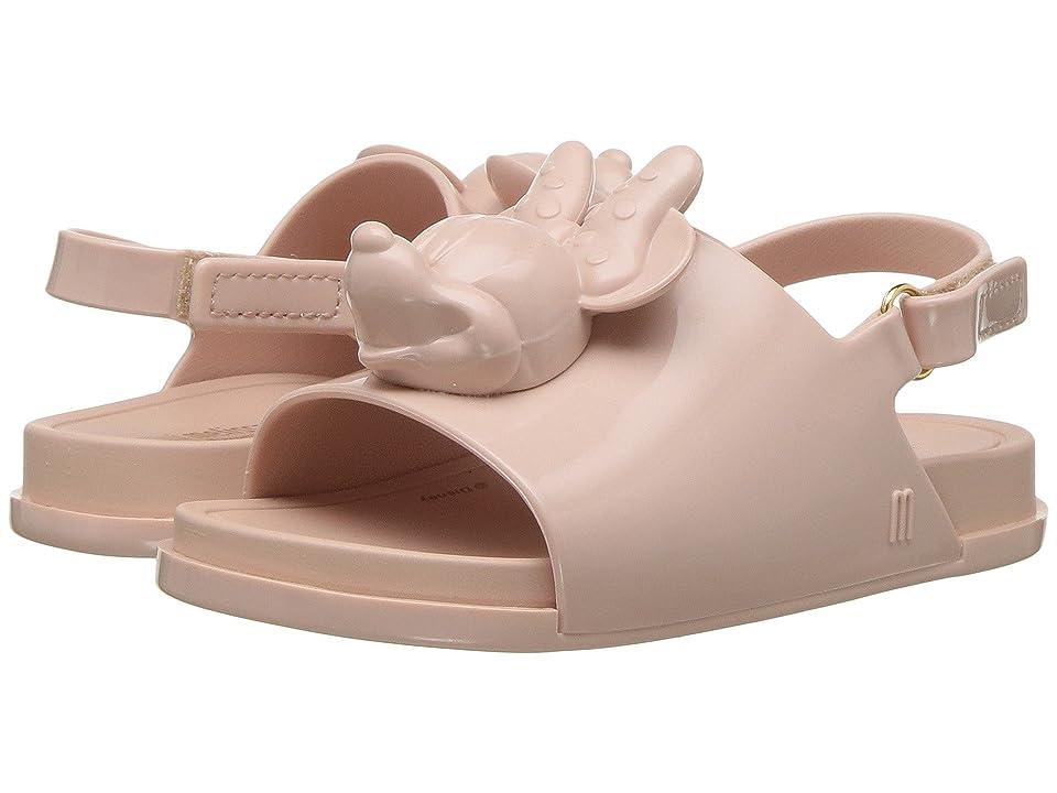 Mini Melissa Mini Beach Slide Sandal + Disney (Toddler/Little Kid) (Sand) Girls Shoes