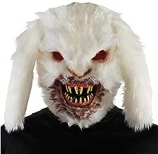 Creepy Horror Rabid Bunny Killer Rabbit MASK Halloween Monster Costume Accessory White