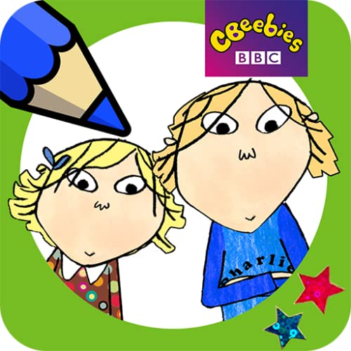 Charlie and Lola Colouring