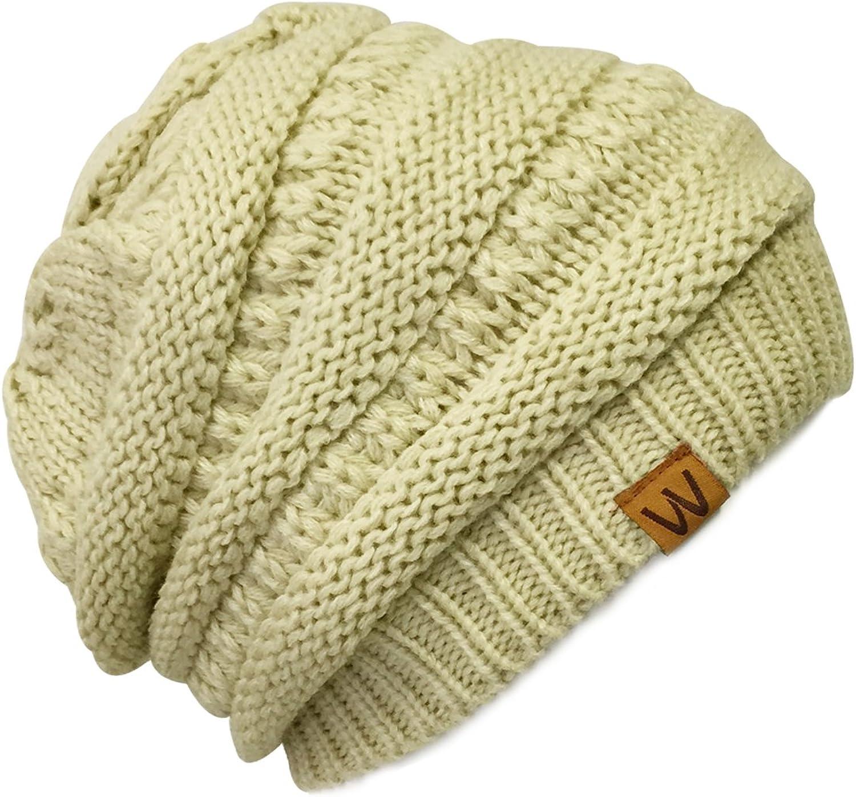 Allydrew Stretchy Warm Knit Beanie