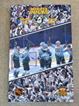 ANAHEIM MIGHTY DUCKS NHL HOCKEY MEDIA GUIDE - 1997 1998 - NEAR MINT