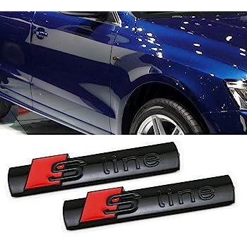 Audi Quattro Grill Badge Emblème TT A3 S3 A4 S4 A5 S5 A6 S6 S6 A8 Q7 S line 17
