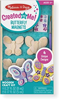 Melissa & Doug Created by Me! Butterfly Magnets, Arts &...