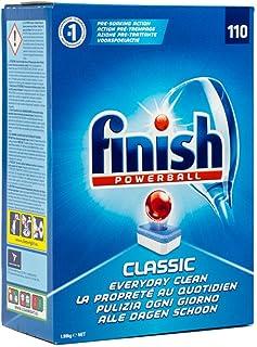 英國原裝正品進口Finish亮碟洗碗機專用洗滌塊經典版110粒裝