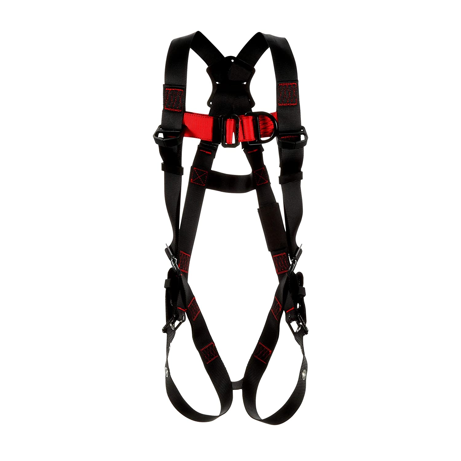 3M Fall Protecta Vest-Style Climbing Harness Med Max 51% OFF shop 1161521 Black
