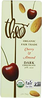 Theo Classic Organic Dark Chocolate (70% Cacao) with Cherry & Almond, 3