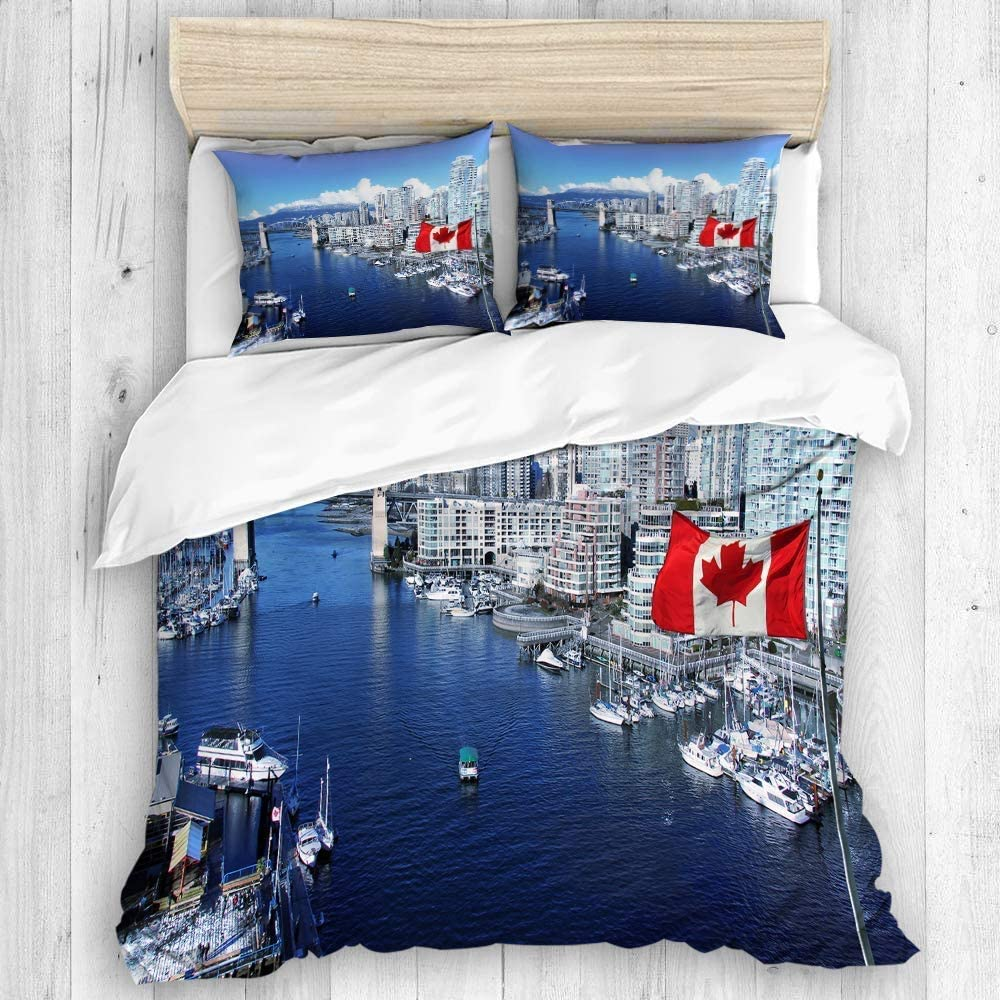 Max 71% OFF EMYPCH 3 Piece Duvet Cover Set King Canadian C Size Max 40% OFF - False Flag