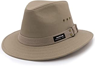 "Men`s Original Canvas Safari Sun Hat, 2 1/2"" Brim, UPF (SPF) 50+ Sun Protection"