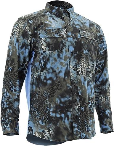 Huk Kryptek Phenom manga larga de pesca camisa, h1500021