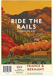 Capstone Games IR202 Ride the Rails: France & Germany, Multicoloured