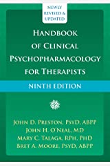 Handbook of Clinical Psychopharmacology for Therapists Kindle Edition