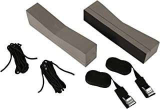 attwood 11438-7 Universal Rack-Free Car-Top Kayak Carrier Kit with Supporting Foam Blocks