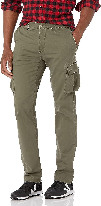 12. Amazon Essentials Men's Slim-fit Stretch Cargo Pants