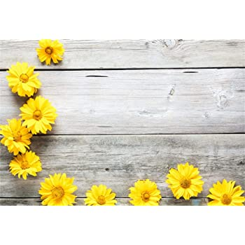 amazon com csfoto 8x6ft background for yellow flowers on vintage wood board photography backdrop holiday decoration blooming florals on rustic wood daisies child kid photo studio props vinyl wallpaper camera photo csfoto 8x6ft background for yellow flowers on vintage wood board photography backdrop holiday decoration blooming florals on rustic wood daisies child