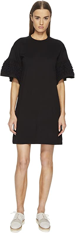 See by Chloe - T-Shirt Dress with Embellished Sleeves