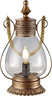 Trio Lighting Lámpara de mesa, Antique cobre