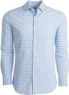 Mizzen + Main Leeward Mens Slim Fit Button Down Dress Shirt