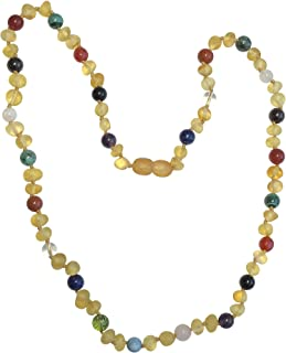 Postpartum Necklace by Umai- Helps Naturally Reduce Anxiety, Stress, Lack of Energy and Baby Blues in New Moms (18 inch Necklace)