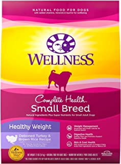 Wellness Complete Health Natural Dry Small Breed Dog Food Small Breed Healthy Weight