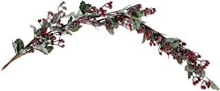 IH CASADECOR Frosted Red Berry Garland, Multi