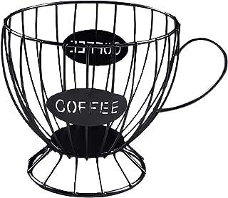LOVIVER Panier Coffee Porte Capsule Café, Porte Capsule de Café Pod Support de Rangement en Métal, pour Dolce Gusto, Nespr...