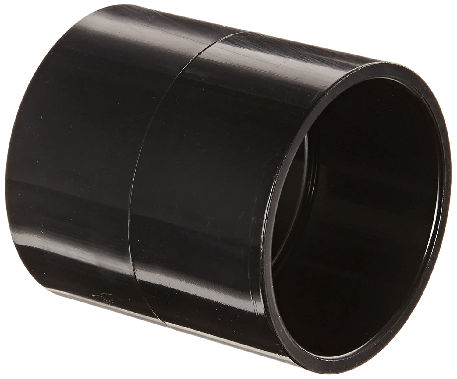 2 Socket Black Coupling Schedule 40 Spears 429-B Series PVC Pipe Fitting