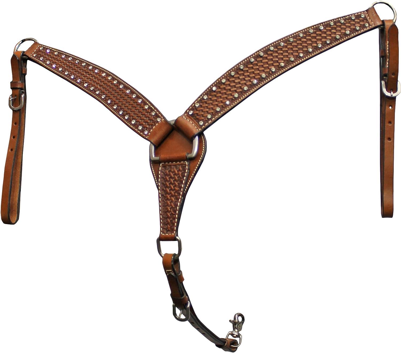 colorado Saddlery The 75102 Diamante Breast Collar