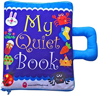 comprar comparacion My Quiet Book UK - Soft Activity Book for Toddlers and Baby (CE Approved)