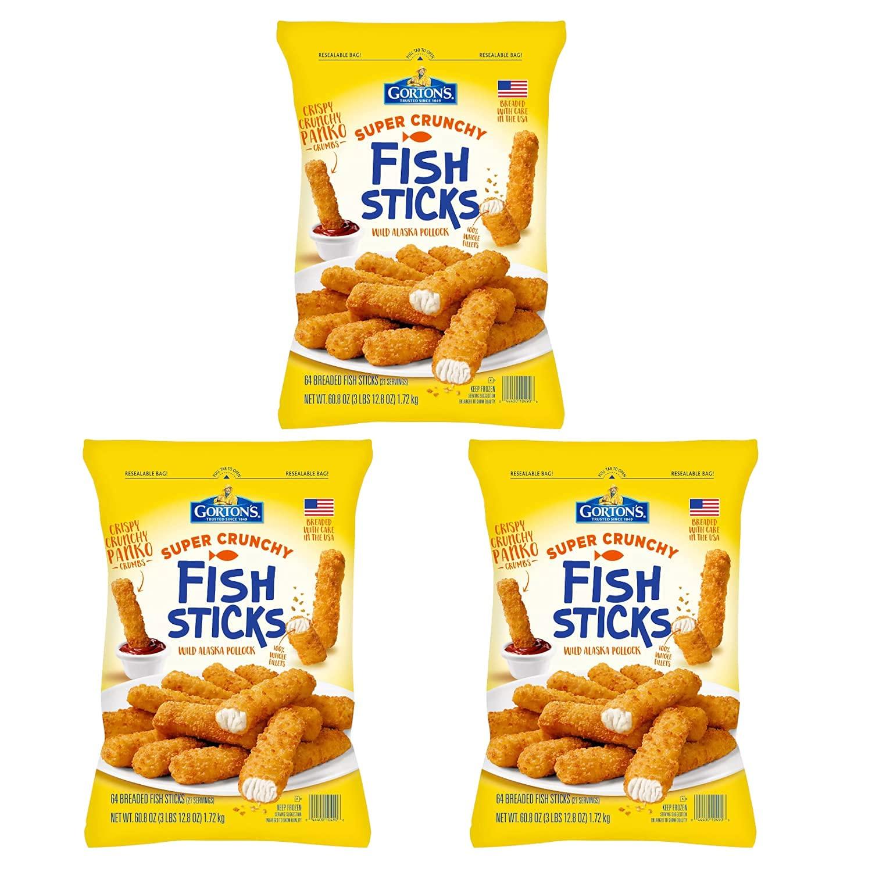 Gorton's sale Super Crunchy Breaded 3 Now on sale Fish Sticks Pack